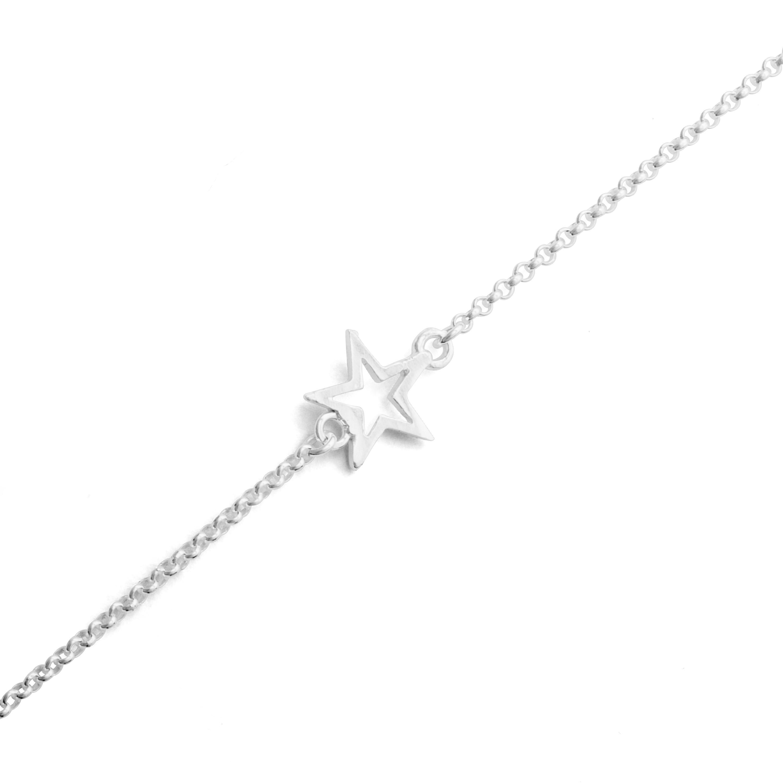 Erbsarmband Stern 925er Silber