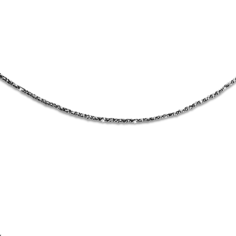 Filigrane funkelnde Kette Sternenstaub 925er Silber, versch. Längen