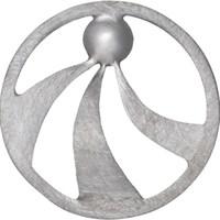 "Einleger ""Ray"" rd. geb./glatt klein 925er Silber"