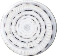 """Gemusterter Einleger """"Spiral light"""""""
