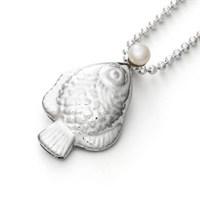 "Anhänger ""Maritime Brise"" mit Perle 925er Silber"