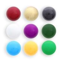 Klangkugel-Set 9-farb. klein ca.11mm