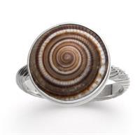 Ring Muschel 925er Silber