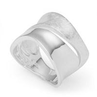Ring geb./glatt 925er Silber