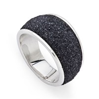 Ring Lava Sand 925er Silber