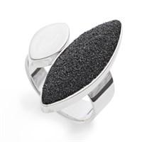 """Ring""""Lavasand"""" 925er Silber"""