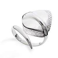 """Ring """"Maritime Brise"""" Rochen poliert 925er Silber"""