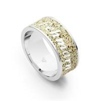 """Ring """"Fehmarn"""" Strandsand 925er Silber"""