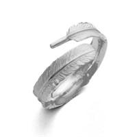 Schmaler Ring Traumfänger offen 925er Silber