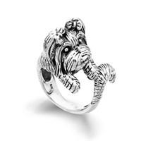 "Ring ""Yorkshire"" oxidiert 925er Silber"