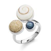 """Ring """"Strand + Meer"""""""