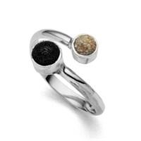 """Ring """"Boje"""" rhodiniert 925er Silber"""