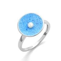 """Ring """"Meeresfunkeln"""""""