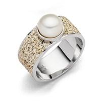 """Ring """"Strandperle"""""""