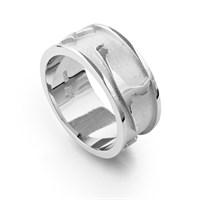 """Ring """"Sylt"""" matt/poliert/rhodiniert"""