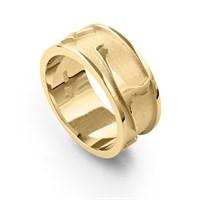 """Ring """"Sylt"""" matt/poliert/vergoldet"""