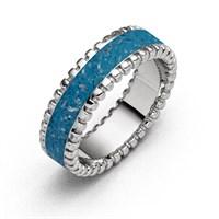 """Ring """"Strandzauber blau"""""""