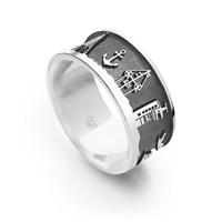 """Ring """"Küste Cux sandlos"""""""