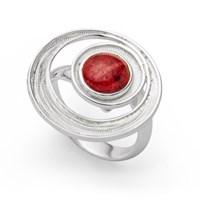 """Ring """"Feuerstrudel"""""""