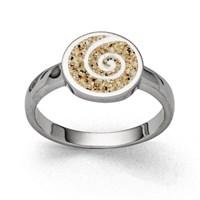 "Ring ""Sandspirale 2.0"""