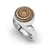 """Ring """"Schokoschnecke 2.0"""""""