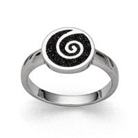 "Ring ""Lavasandspirale 2.0"""