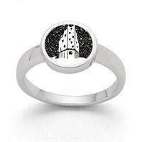 """Ring """"Hamburg Elphi"""" Lavasand"""