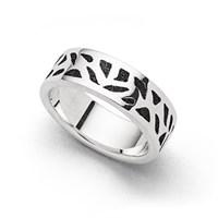 "Ring ""Wandel"" Lavasand"