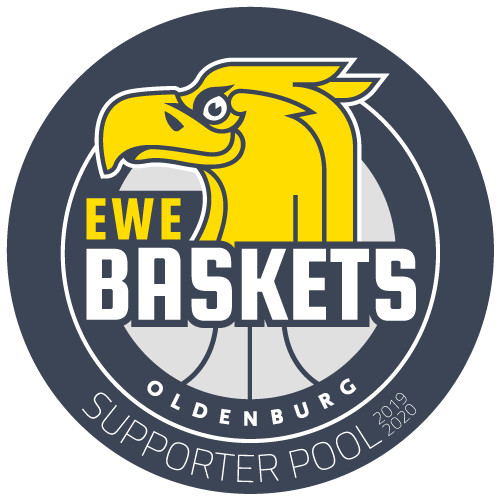 EWE Baskets Oldenburg - Supporter Pool Logo